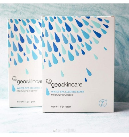 GeoSkincare Water Spa Sleeping Mask Moisturizing Capsule