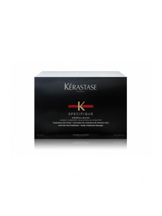KERASTASE AMINEXIL BLACK TREATMENT (FOR ANTI-HAIR LOSS) 6MLX42VIALS CC