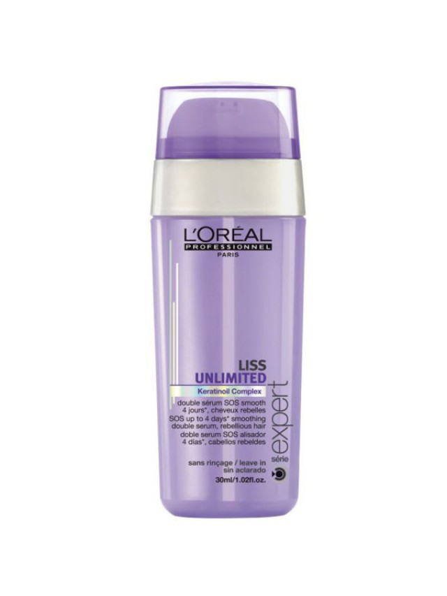 LOREAL LISS UNLIMITED SOS SMOTHING DOUBLE SERUM 30ML CC