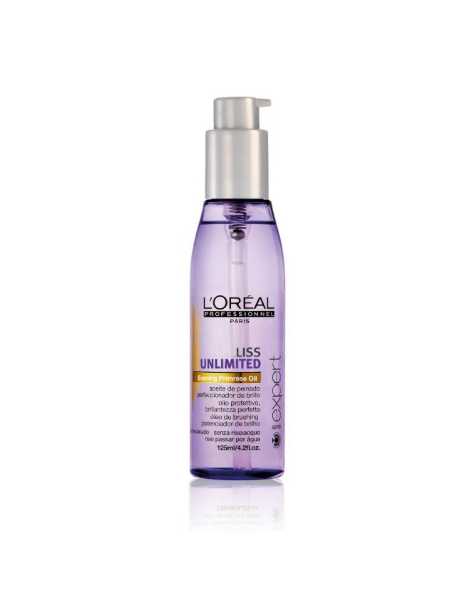 LOREAL LISS UNLIMITED LEAVE-IN OIL 125ML CC