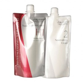 Shiseido Crystallizing Straightener  H1 +  Neutralizer 2 Cream