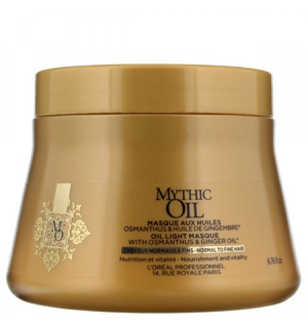 Loreal Mythic Oil Masque ( Normal To Fine Hair )