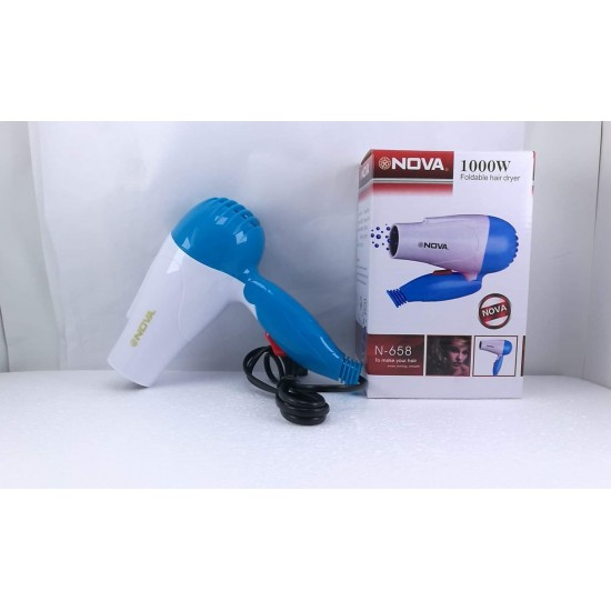 Nove Mini Flodable Hair Dryer N-658