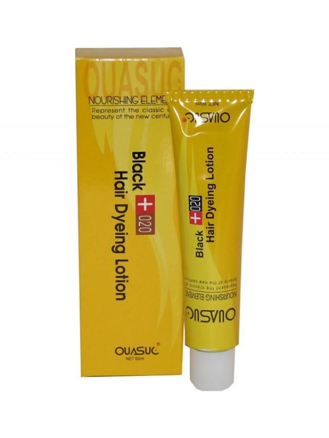 OUASUC BLACK HAIR DYEING LOTIONN 60ML CC