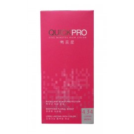 Quickpro Hair Color 4.34 (Copper Brown)