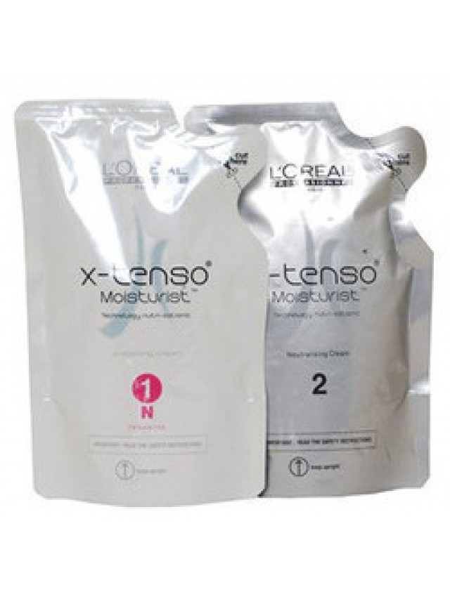 LOREAL X-TENSO MOISTURIST ( 1N FOR NATURAL HAIR ) 2X400ML CC