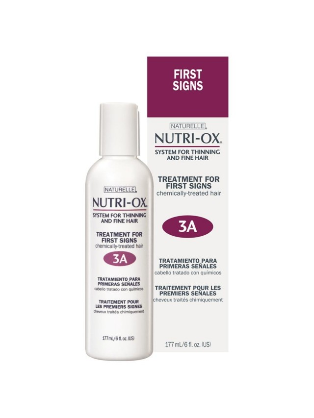 NUTRI-OX TREATMENT FOR FIRST SIGNS STEP 3A-(FOR CHEMICALLY-TREATED HAIR) 177ML CC