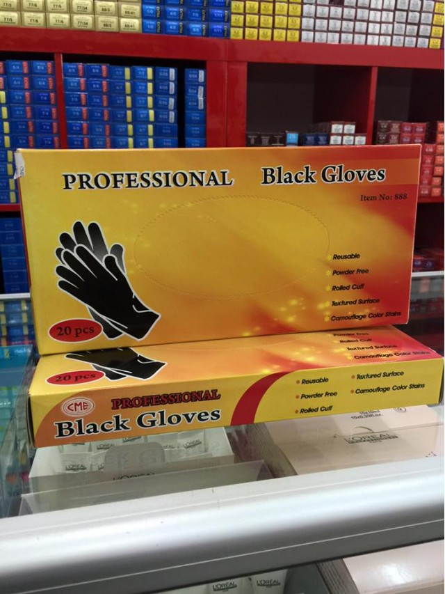 CME BLACK GLOVES CC