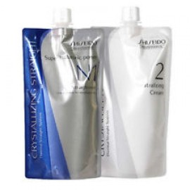 Shiseido Crystallizing Straightener N1 + Neutralizer 2 Cream