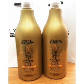 Loreal Mythic Oil Conditioner 750ml X 2